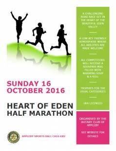 Heart of Eden Half Marathon