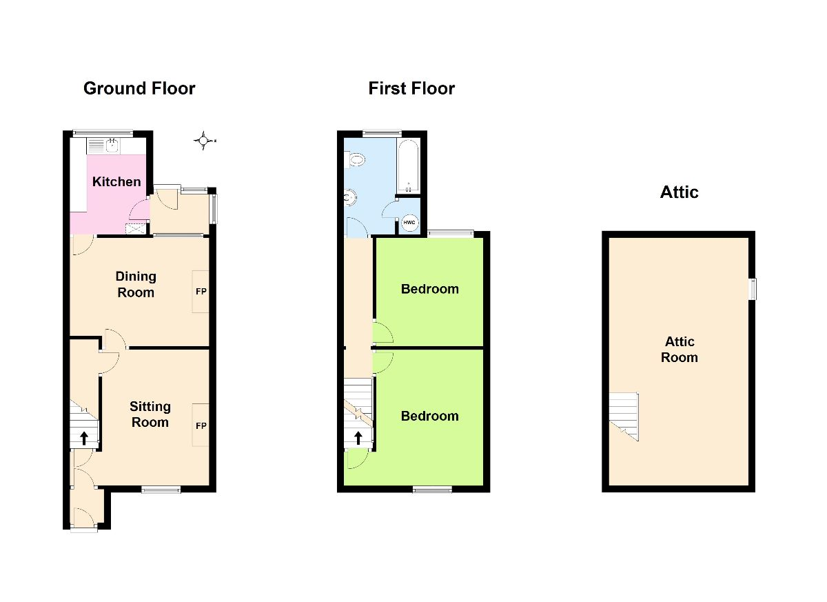Butterwick cottages butterwick ca10 2qq arnison heelis for Top rated floor plans